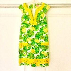Lilly Pulitzer Fitted Shift Dress, Like New!